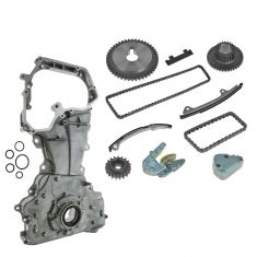 02-06 Nissan Altima, Sentra 2.5L Complete Engine Timing Chain Kit with Oil Pump