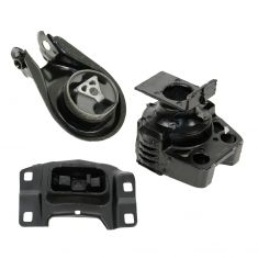 04-09 Mazda 3 w/2.0L; 04-08 3 w/2.3L Engine & Transmission Mount Kit (Set of 3)