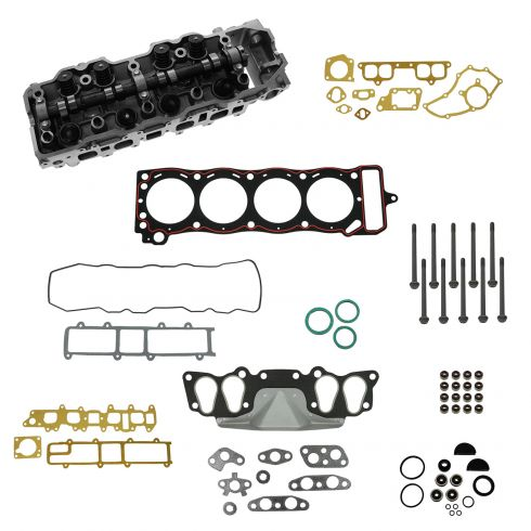 85-95 Toyota PU,4Runner;85 Celica 2.4L (22R, 22RE, 22REC) Loaded Cylinder Head, Gaskets, & Bolts Kit