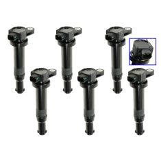 9/12/06-10 Kia Optima 2.7; 07-11 Rondo 2.7L Ignition Coil Set of 6