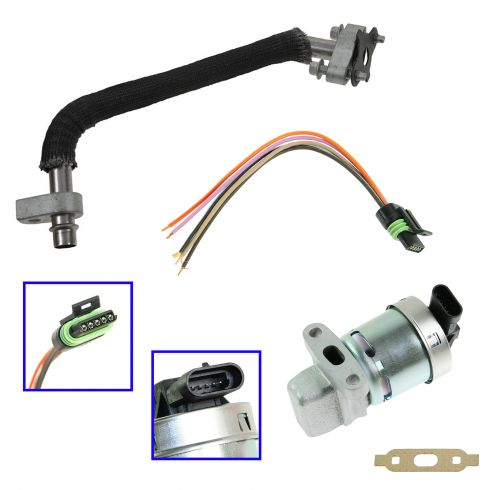Chevrolet Equinox Pontiac Torrent Egr Valve Tube Kit Diy Solutions