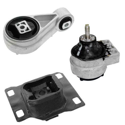 00-04 Ford Focus w/2.0L DOHC Engine & Transmission Mount Set