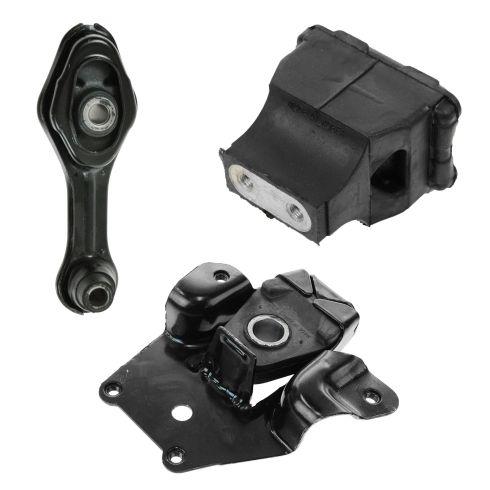 95-02 Cavalier, Sunfire 2.2L, 2.4L w/ AT Engine & Transmission Mount Set