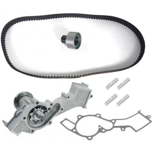 96-00 Pathfinder; 97-00 QX4; 99-04 Frontier; 00-04 Xterra w/3.3L Water Pump & Timing Belt Kit