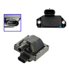 96-07 Buick, Cadillac, Chevy, GMC, Isuzu, Olds, Pontiac Multifit Ignition Coil & Control Module Kit