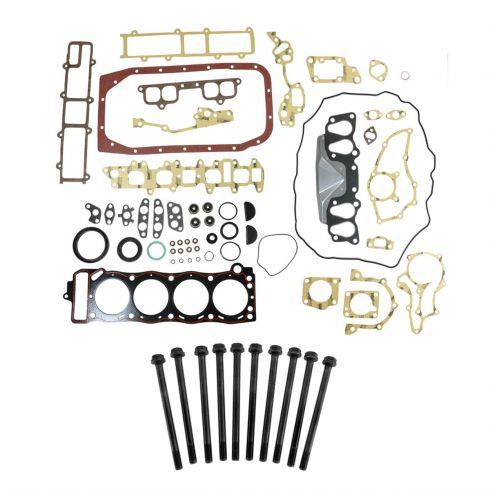 85-95 Toyota PU, 4Runner; 85 Celica w/2.4L (22R, 22RE, 22REC) Engine Gasket & Head Bolt Kit