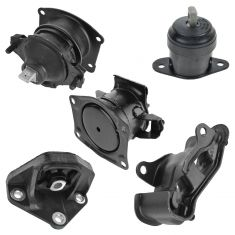 03-07 Accord w/ 3.0L; 04-06 TL w/ 3.2L Engine and Automatic Transmission Mount Set of 5