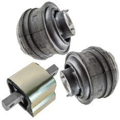 98-12 MB C, CL, CLK, CLS, E, S, SL, SLK Series Multifit Front Hydraulic Engine Mount Set