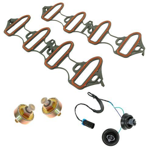 04-07 GM Multifit Engine Knock Sensor, Harness, and Gasket Kit (4pc)