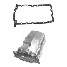 98-06 Volkswagon Jetta Golf Beetle Oil Pan 2.0L w/o Low Oil Sensor Aluminum w/ Gasket