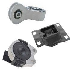 08-11 Ford Focus Engine & Transmission Mount Kit Set of 3