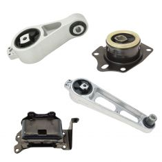 01-09 Chrysler PT Cruiser 2.4L (Exc Turbo) Engine & Transmission Mount Kit Set of 4