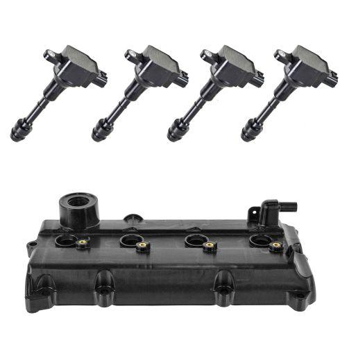 02-06 Altima; 02-06 Sentra 2.5L Valve Cover, Gasket & Ignition Coil Kit