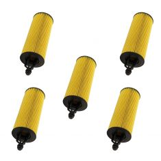 14-19 Chrysler; Dodge; Jeep; Ram 3.6L Engine Oil Filter (Set of 5)