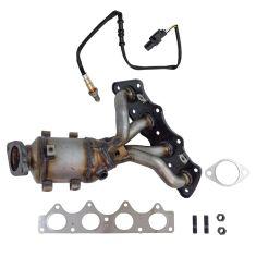 Exhaust Manifold & Converter w/ Oxygen Sensor Kit
