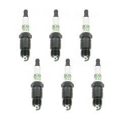 AC Delco R43TS Spark Plug Set of 6