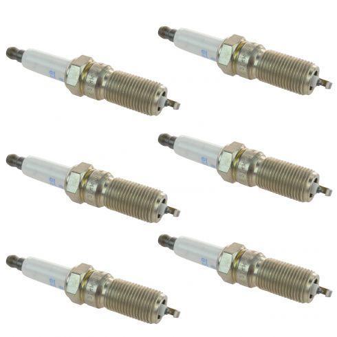 05-09 GM Multifit Platinum Spark Plug 41-990 Set of 6 (AC Delco)