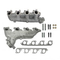 77-82 Ford Truck Multifit 5.8L 6.6L Exh Manifold & Gasket Kit Pair (Dorman)