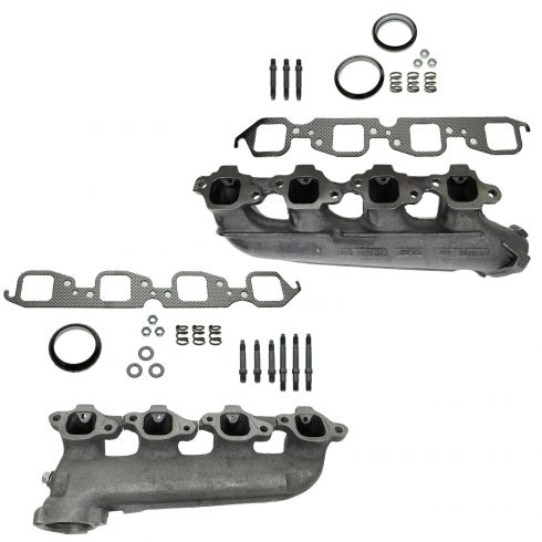 Chevy GMC Pickup Truck V8 Exhaust Manifold PAIR (Dorman)