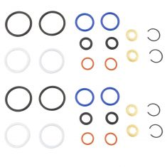 03-10 Ford F250SD-F750; E350, E450 w/6.0L Diesel Fuel Injector O-Ring & Top Seal Set (Kit of 4) (DM)