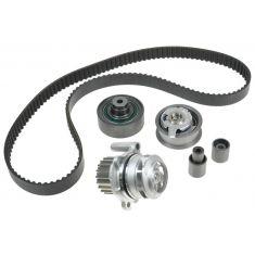 98-04 VW Jetta Golf Beatle 1.9l Diesel Timing Belt Kit with Water Pump (metal impeller) (Gates)