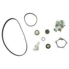 06-07 Eclipse; 04-06 Galant, Lancer, Outlander Timing Belt & Comp Kit w/Water Pump (7 Piece) (Gates)