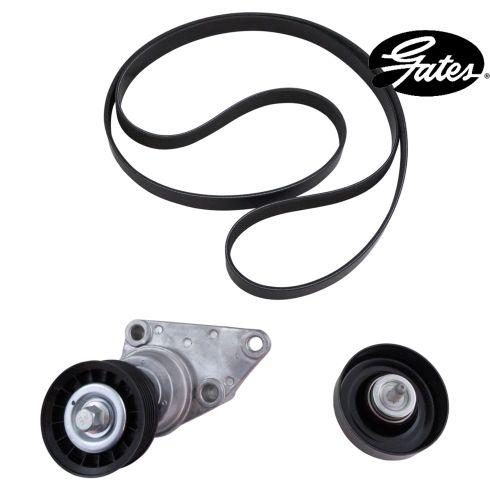 02-09 GM PU, SUV; 03-06 Ascender; 05-09 9-7X w/AC (3 Comp) Accessory Belt Drive Kit (Gates)