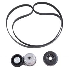 92-03 Dodge Mid & Full Size PU, SUV w/V6 & V8 (3 Component) Accessory Belt Drive Kit (Gates)