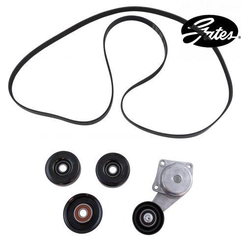05-10 F150; 06-10 Fd, Merc Mid SUV; 09-14 Expdtn w/4.6L, 5.4L (5 Comp) Accesy Belt Drive Kit (Gates)