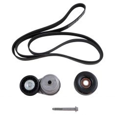 96-00 GM FS PU, SUV, Van w/4.3L, 5.0L, 5.7L  (3 Component) Accessory Belt Drive Kit (Gates)