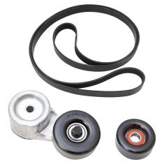 94 Bravada, 88-95 GM Full & Mid Size PU, SUV w/4.3L, 5.7L Accsy Belt Drive Kit (3 Pce Set) (Gates)