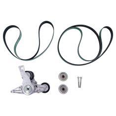 2012 Western Star 4900SB w/14.8L Detroit Diesel Accessory Serp Belt Drive Kit (5 Pce Set) (Gates)