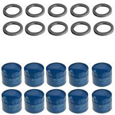 86-14 Hyundai Multifit; 01-14 Kia Multifit Engine Oil filter & Drain Plug Gasket 10 Pack (Hyundai)