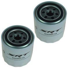 08-15 Dodge, Chrysler, Jeep w/5.7L, 6.1L, 6.4L, 8.4L SRT Performance Engine Oil Filter Pair (Mopar)
