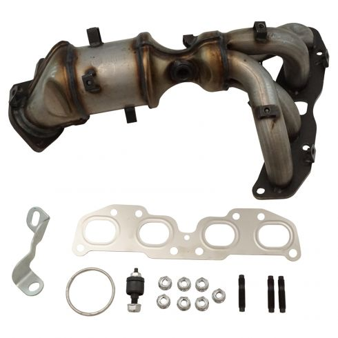 1AEEM00739-2007-12 Nissan Altima Exhaust Manifold Catalytic Converter  Assembly