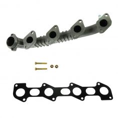 03-05 Excursion; 03-07 F250SD-F550SD, 04-10 E250-E550 w/6.0L Diesel Exh Manifold w/Install Kit LH