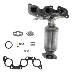 02-06 Camry w/3.0L; 02-03 ES300 Rear Exhast Manifold w/Integral Cat Conv & Install Kit RH