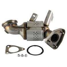 Exhaust Manifold Catalytic Converter Assembly