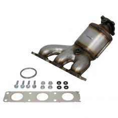 07-10 Volvo XC90 w/3.2L (for Cylinders 1,2,3) Exhaust Man w/Catalytic Conv, Gkt & Hrdwre Kit