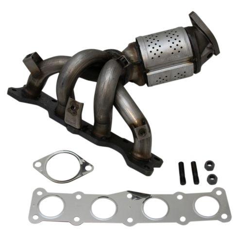 Catalytic Converter compatible with 2006-2008 Hyundai Sonata 2006-2008 Kia Optima 2008 Kia Rondo 2.4L Manifold