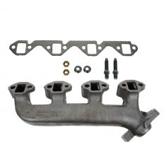 86-96 Ford Truck Lincoln Mercury 302 Exh Manifold & Gasket Kit RH (Dorman)