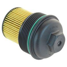 02-15 GM Multifit w/2.0L, 2.2L, 2.4L Engine Oil Filter Cartridge w/Cap & Seal (AC Delco)