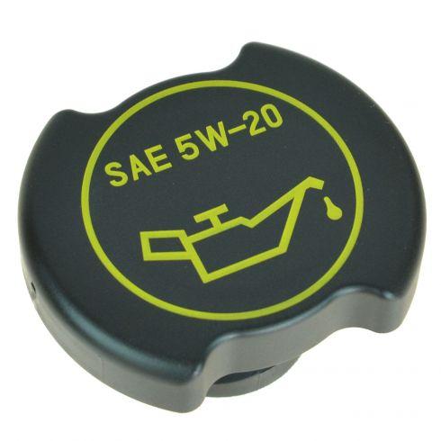 01-15 Ford; 00-15 Lincoln; 00-11 Merc Multi Black & Yellow ~SAE 5W-20~ Half Turn Oil Filler Cap (MC)