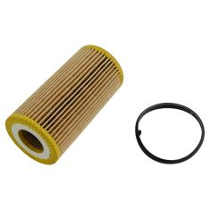 05-14 Audi, Volkswagen Multifit w/2.0L, 2.5L Engine Oil Filter Cartridge w/Gasket Kit (Volkswagen)