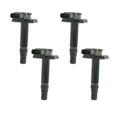 99-04 Audi 99-01 VW Multifit 4 Cyl Ignition Coil with Boot (Set of 4)
