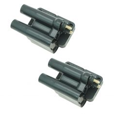 91-98 Eagle Mitsubishi 4 Cyl Multifit Ignition Coil (SET of 2)