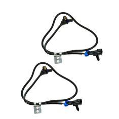 97-05 GM MId Size PU & SUV w/4WD; 03-05 2WD w/ZR2 Pkg Front Wheel ABS Sensor w/Harness PAIR