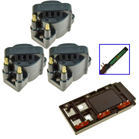 93-08 GM 3.8L Ignition Control Module and Coil SET