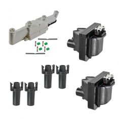 87-02 Buick Chevy Olds Pontiac Multifit 2.3L 2.4L Ignition Coils, Boots, and Housing Kit
