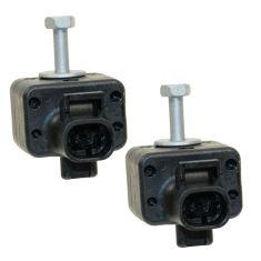 Front Airbag Impact Sensor Replacement | Airbag Crash Sensors | Air